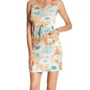 KOMAROV printed dress.